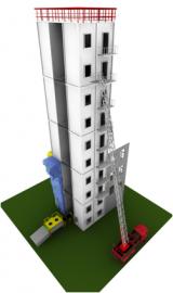 Многофункциональный учебно-тренировочный комплекс в контейнерном исполнении (4-х, 10-ти этажн.)