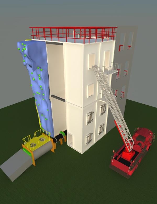 Многофункциональный                 учебно-тренировочный комплекс              в контейнерном исполнении