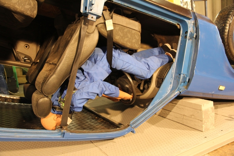 """""""Автомобиль на крыше"""" ГАЗ-3110"""