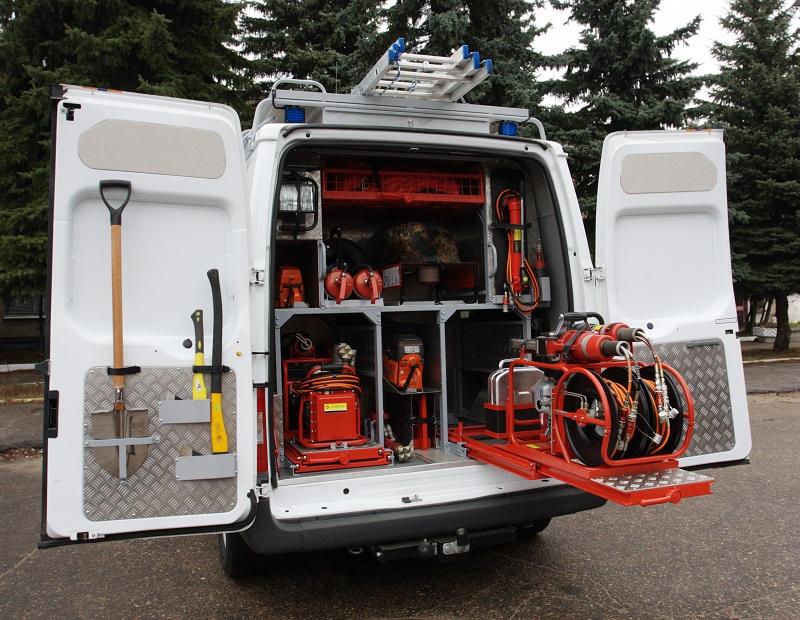Аварийно-спасательные автомобили